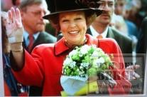 Boeket koningin Beatrix